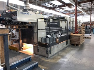 Komori L640+CX - Fully Automated