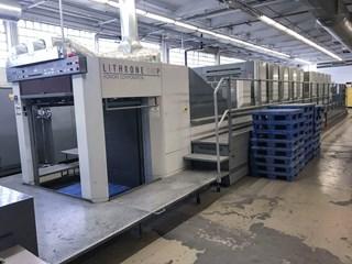 Komori LS1040P+CX - H-UV - Fully Automated