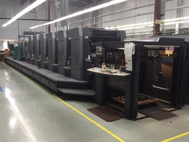 Heidelberg SM CD 102-6+LYLX-UV