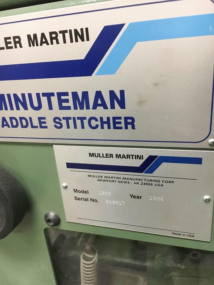 Muller Martini Minuteman 1509