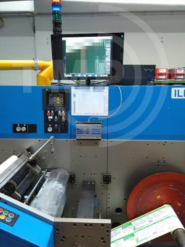 Ilma 340- Hybrid - Label printing technology