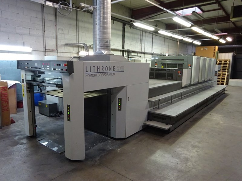 4 Color Used Komori Lithrone Ls440 C Year 2008