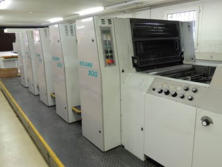 MAN ROLAND 305 - 2001 - Only 44 mio imp. !