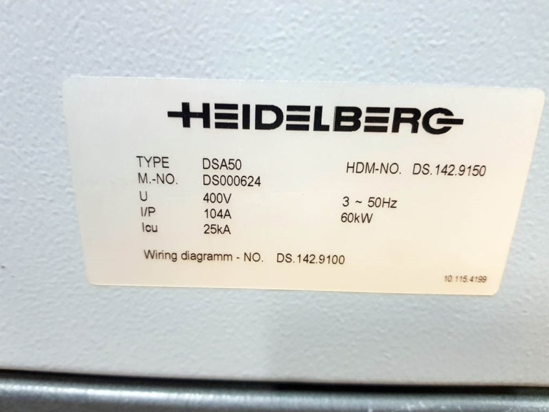 Heidelberg SM 74 - 4 H + L - 2011
