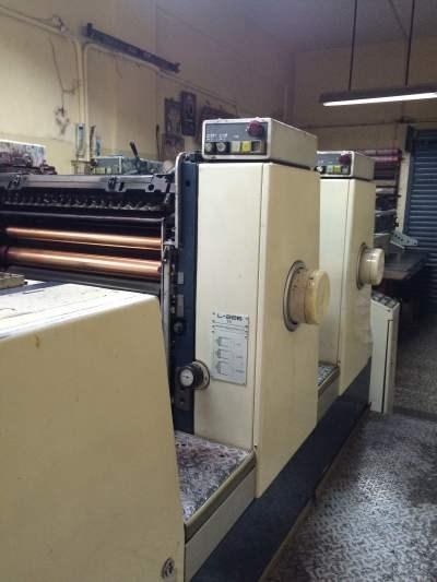 Komori Lithrone 26 Two Colour offset machine