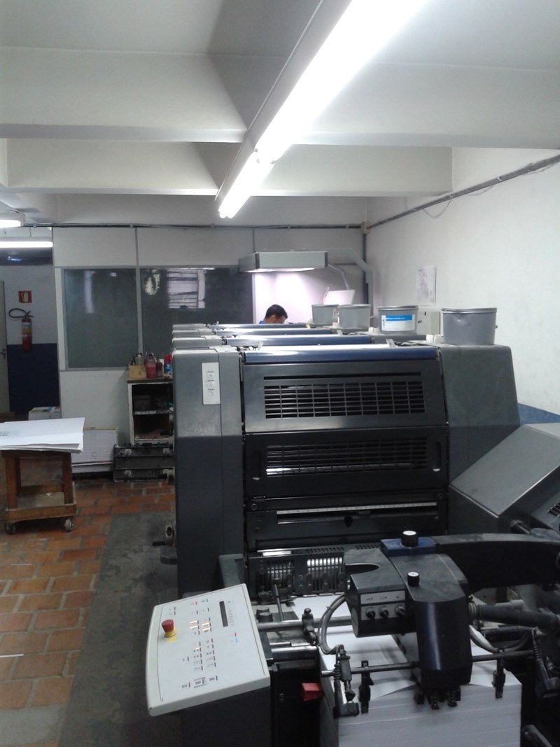 Heidelberg Printer Master 52-4 year 2007