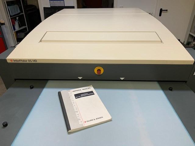 Glunz & Jensen Interplater 85HD
