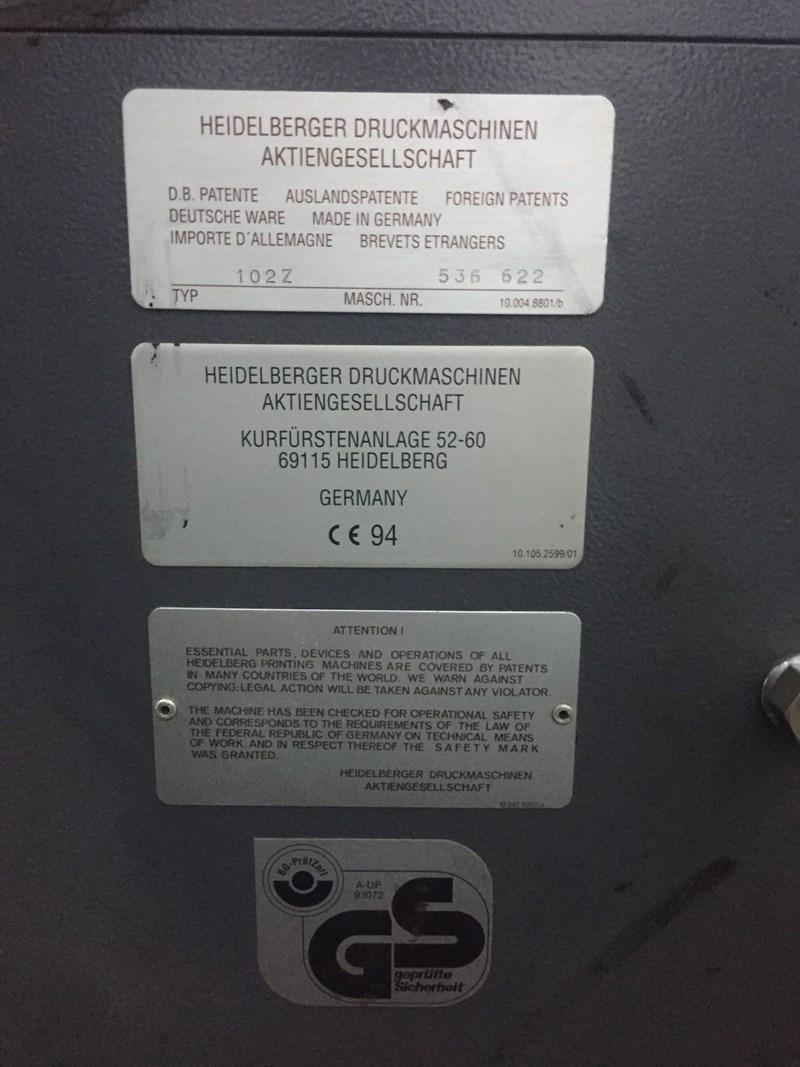 Heidelberg CD 102-2