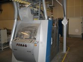 Ferag SNT-U trimmer with block feeder