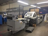 Heidelberg stahlfolder KH66/6KL with SBP46 standing delivery