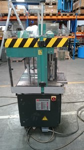 Signode UNI 300-1 Cross strapping machine