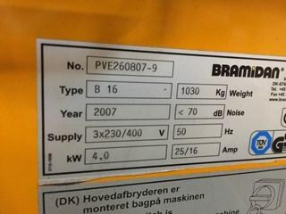 Bramidan B16 Foile Comprimator