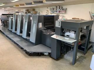 Heidelberg CD 74-4+L-C speed 18.000 s/h Inpress Controll