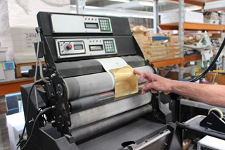 Heidelberg GTS Converted to hot foil