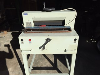 Ideal Forte 48/E semi automatic paper cutter