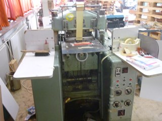 Kolbus Embossing Press