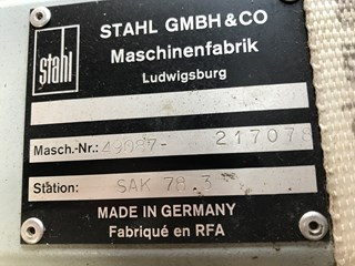 Stahl SAK 78.3 Single streame delivery