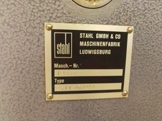 Stahl TV 47/4AA  2nd station  Buckle folding unit