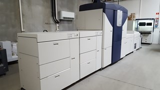 Xerox iGen4  Press XXL Format 660 X 364mm.