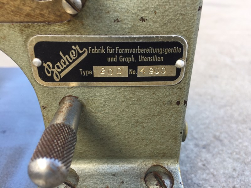 Bacher 200 Thikness Gauge