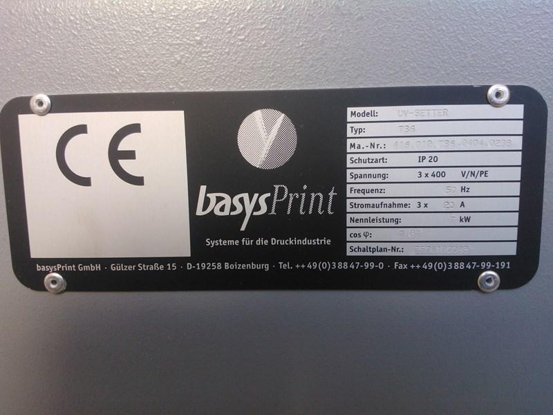 Basysprint UV-setter 736