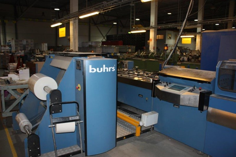 Buhes Zaandam 4000 Collating & Foil Packing