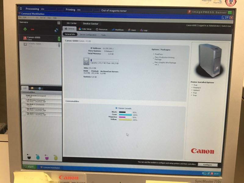Canon Imagepress C6000VP