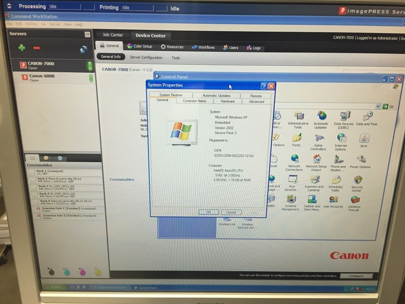 Canon Imagepress C7000CP