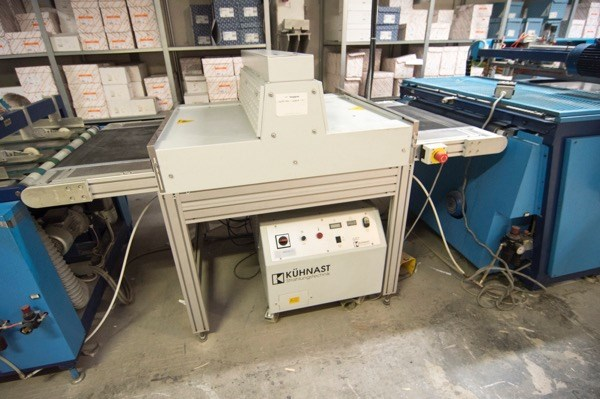 CMS Screen Printing Machine Halley 2
