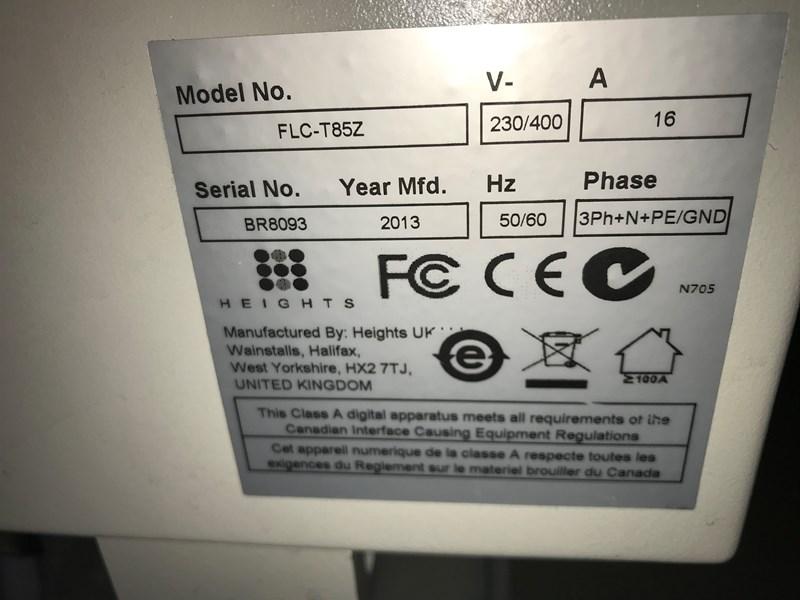 Fuji Processor FLC T85 Z Lo Chem Plate proscessor