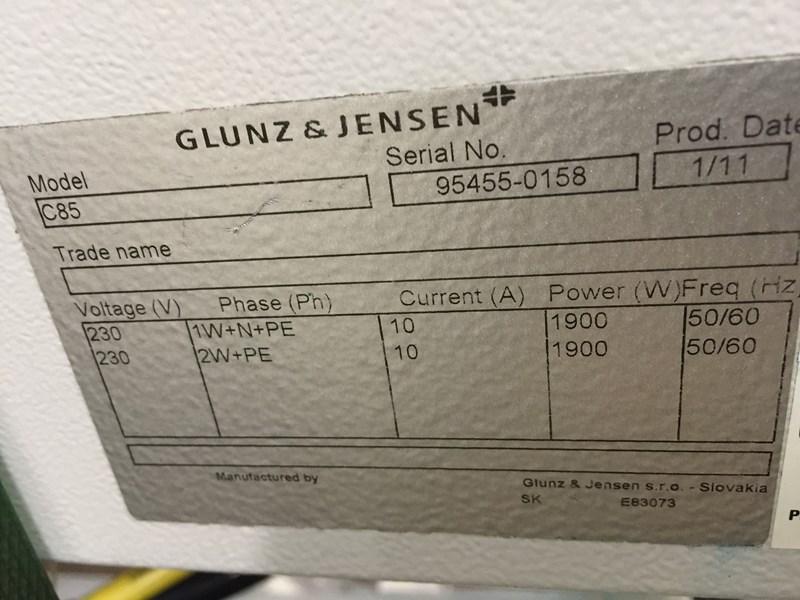 Glunz & Jensen C85 Gumm station