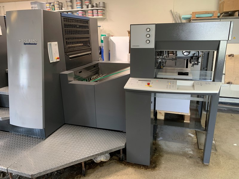 Heidelberg CD 74-4+L-C speed 18.000 s/h Inpress Controll