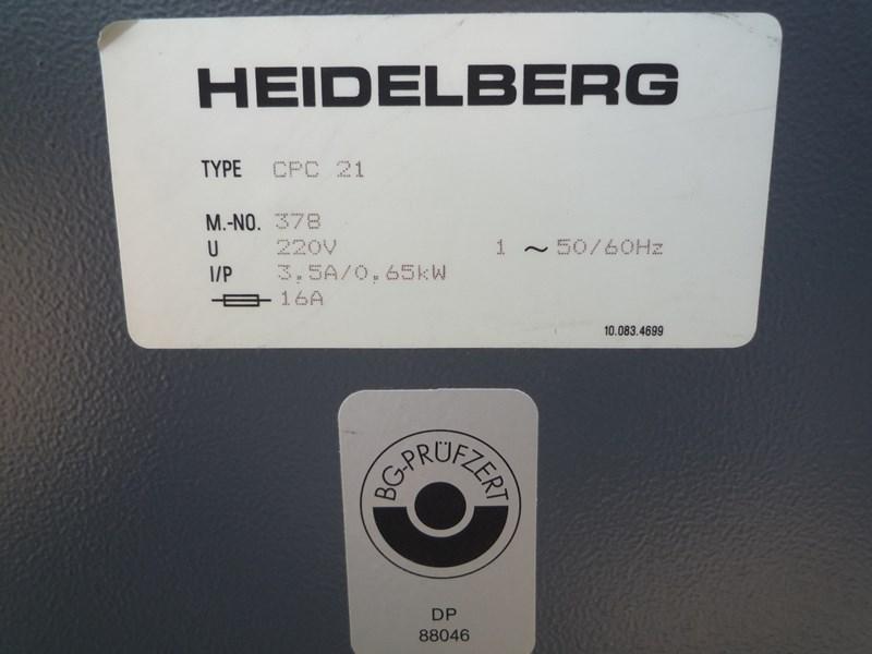 Heidelberg CPC 21 Densitometer