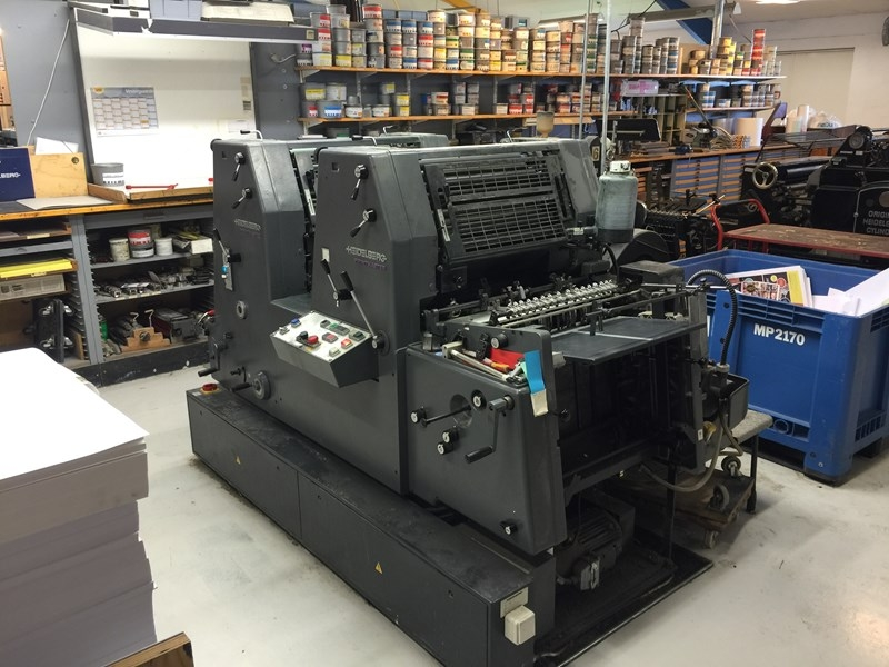 Heidelberg GTO 52-2