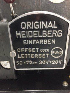 Heidelberg KORS Offset press 52 X 72 cm
