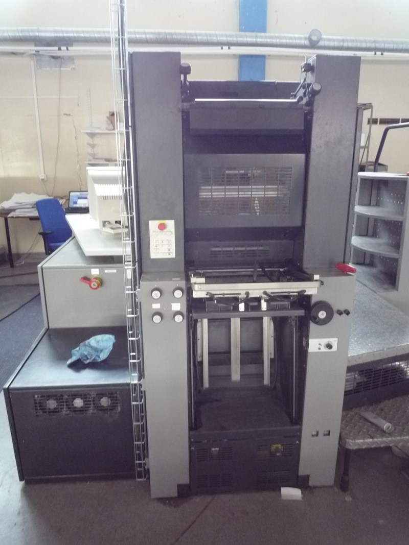 Heidelberg QM DI 46-4 Plus only 4 mil IMP after overhaul