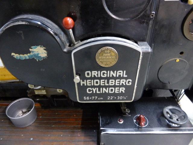 Heidelberg Cylinder SBG 54 x 77