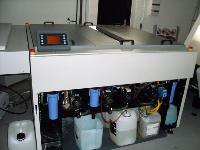 Used Fuji Heights FLP 1260 Mk2 Polymer plate processor year