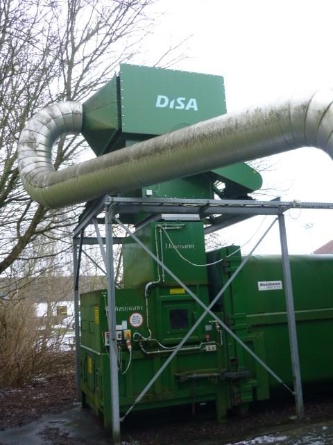 Wast suction Hussman,Varig, Disa