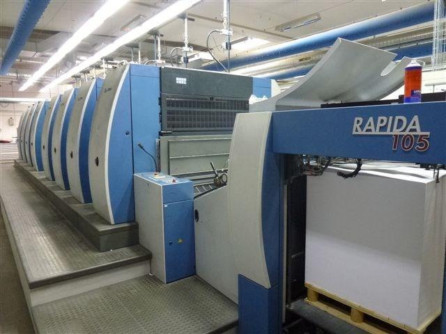 KBA Rapida 105 – 8 FAPC, SW4, ALV1,