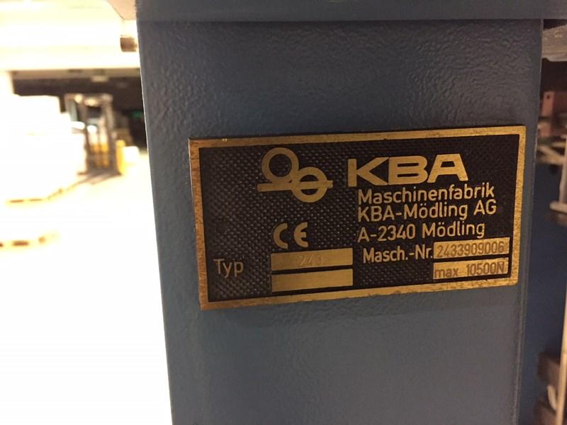 KBA RA106 SIS SPC-9+L SW4 FAPC ALV2 (Full Eqviped)