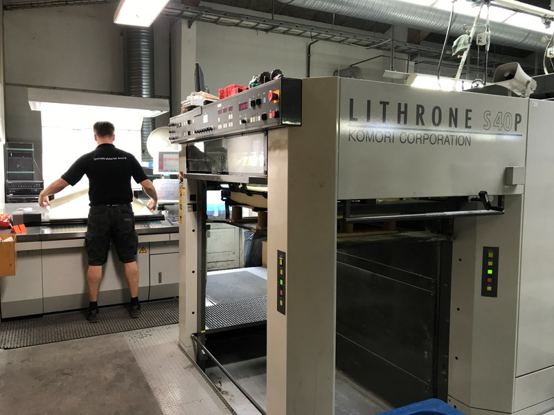 Komori Lithrone LS1040P 5+5  2008 146 mil imp  good offer, for a fast deal before 5 december