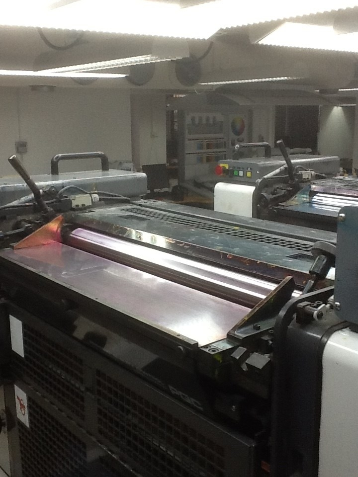 Komori sprint 228 ll with PQC