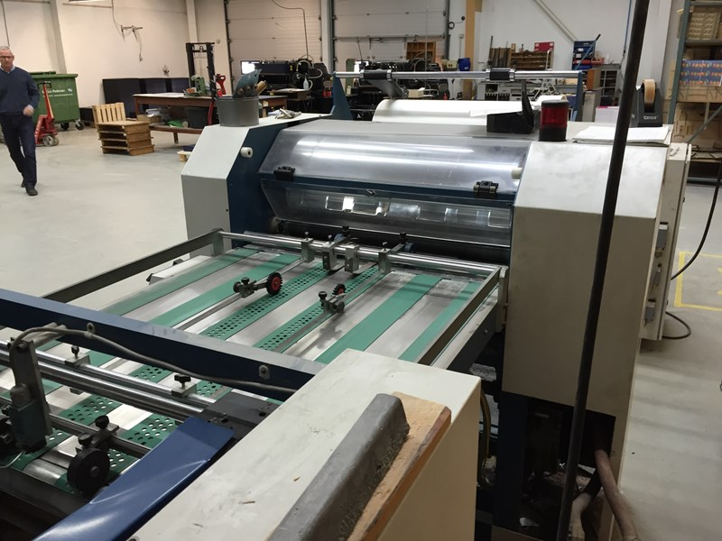 Lamtex T720 Laminating machine
