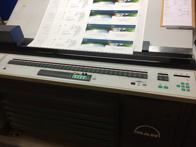 Man-Roland 704 3B LV with Coater