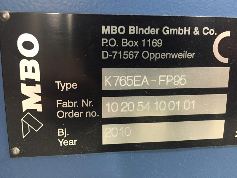 MBO K765EA - SKTL/4 16Pages