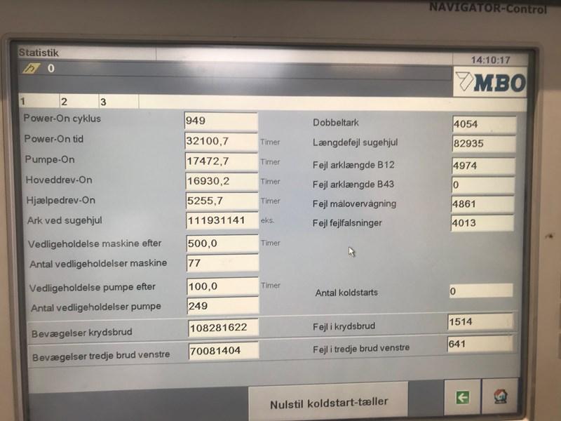 MBO K800.2SKTL/4 , 32 page via sidepocket, with pallet feeder