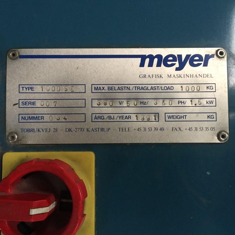Meyer 1000 SE