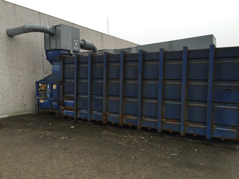 Micodan SK1S 25T Comprimator With Wast sugtion