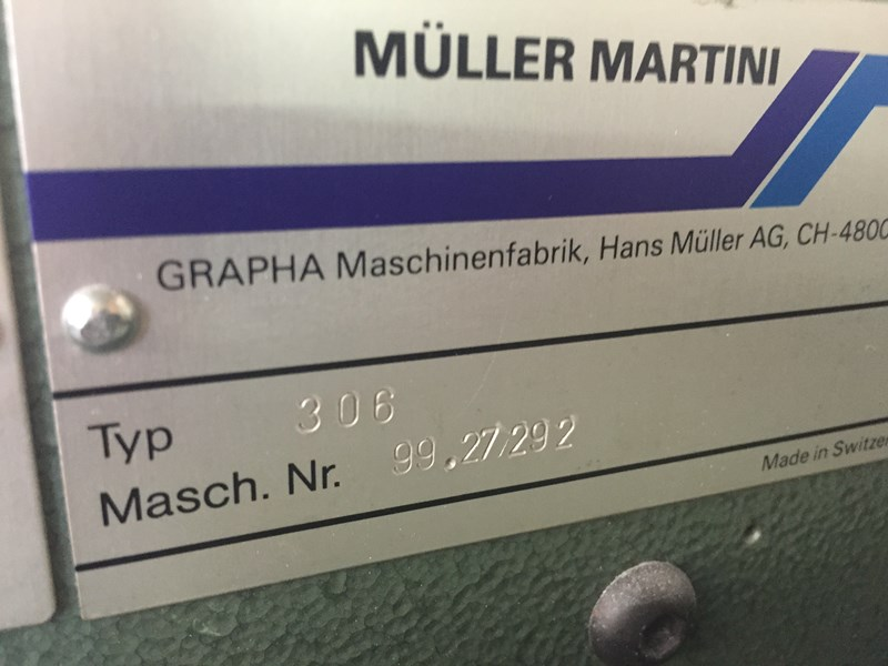 Müller Martini 321 / 5 + cover